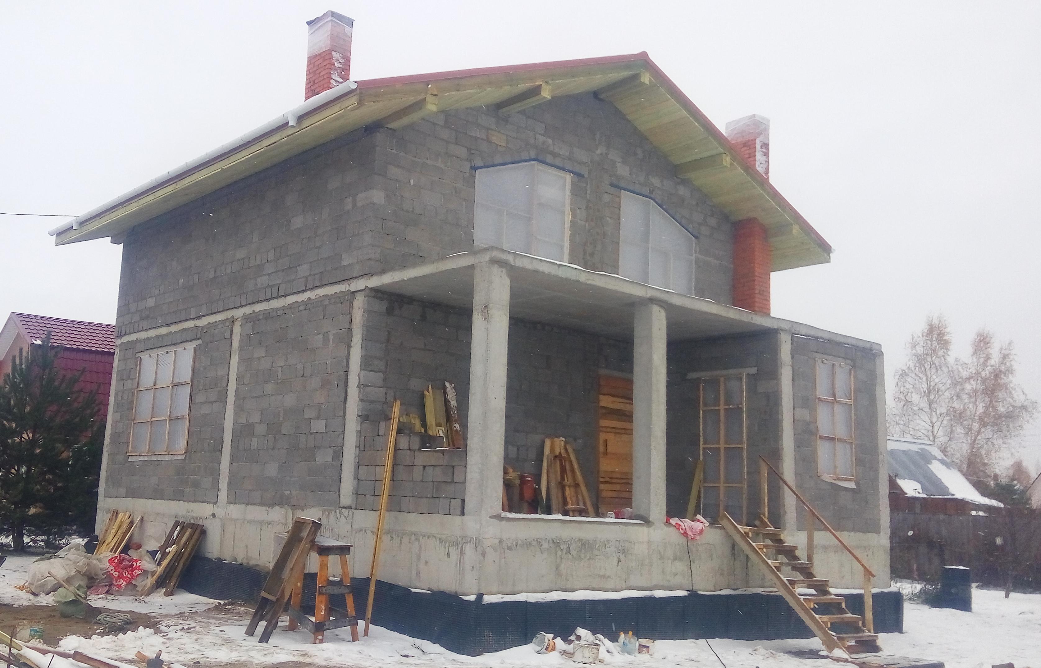 строительство из монолитных блоков