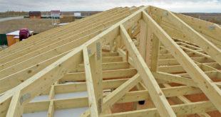 Стропильная система четырехскатной крыши