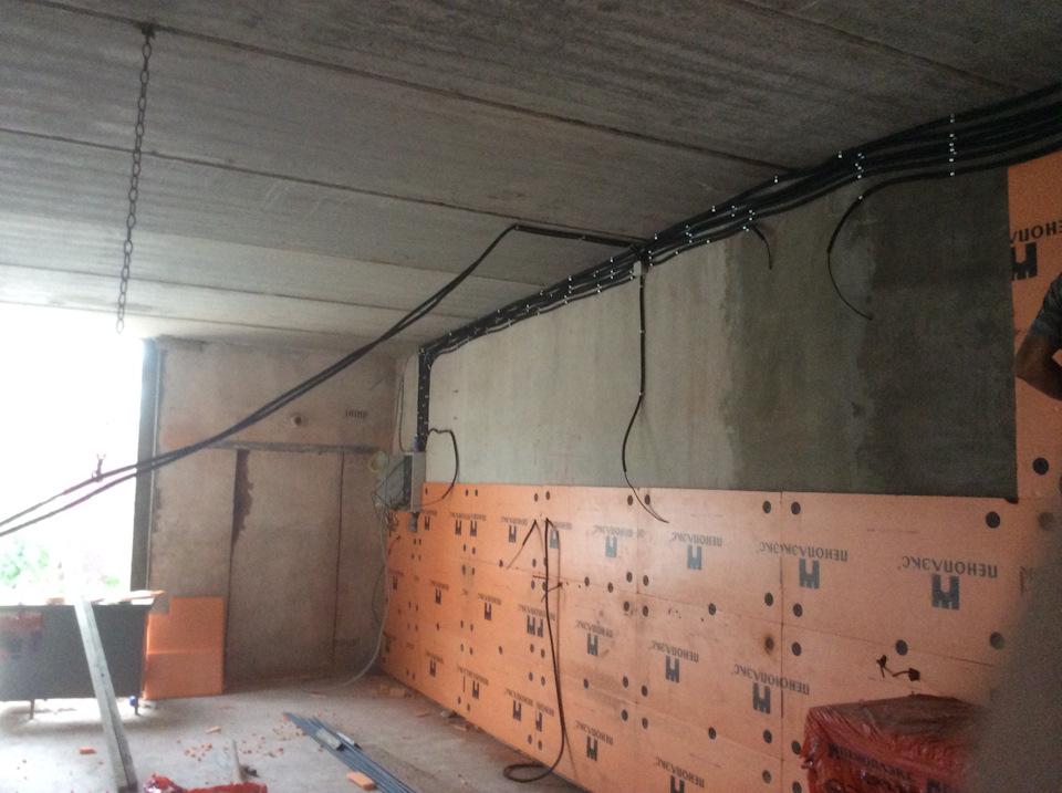 Стены в гараже, выбор материала для стен гаража