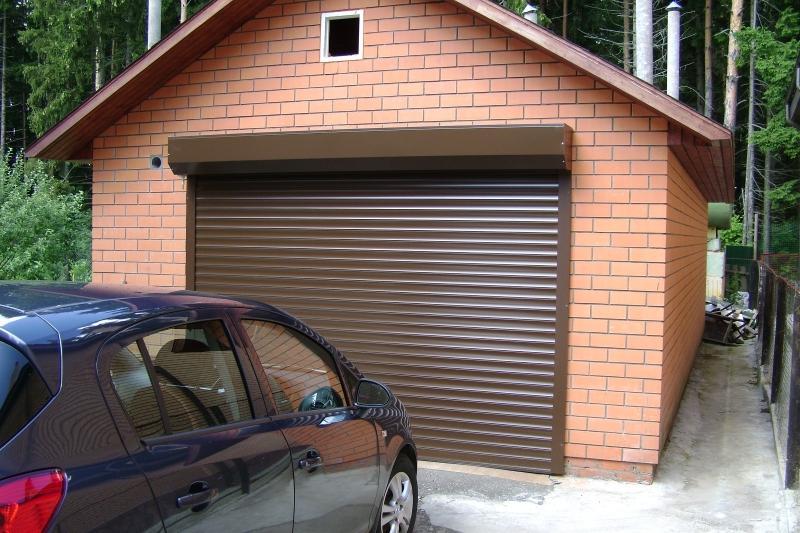 Ролетные ворота для гаража
