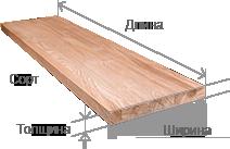 Мебельный щит из сосны в Москве