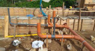 Наружная канализация из труб пвх: достоинства и этапы монтажа